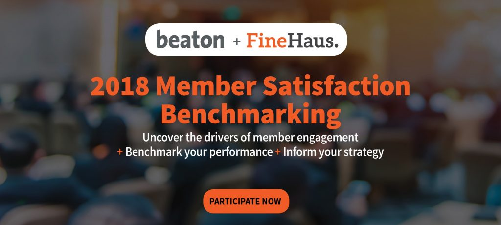 Member satisfaction benchmarking